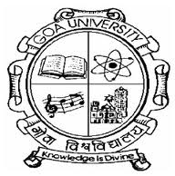 Goa University B.Ed Admission 2018-19