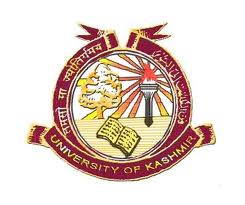 University of Kashmir B.Ed Admission 2016-17