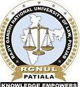 Jobs in RGNUL 2016 Professor, Assistant Professor, Associate Professor ect. post Vacancies