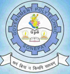 Jobs in Government Polytechnic, Sonepat 2019 Visiting Faculty post Vacancies