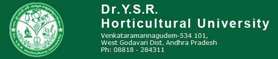 Jobs in Dr. YSR Horticultural University 2017 Assistant Professor post Vacancies
