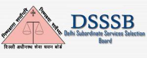 Delhi Subordinate Services Selection Board Recruitment 2017